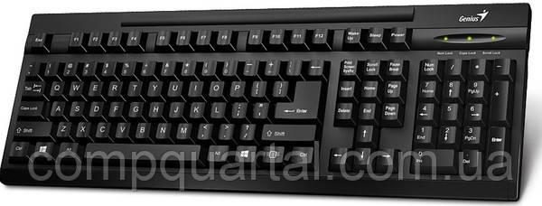Клавіатура Genius KB-125 Black (31300723107) USB UKR