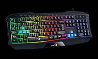 Клавіатура Genius Scorpion K215 Black (31310474105) USB UKR, фото 1