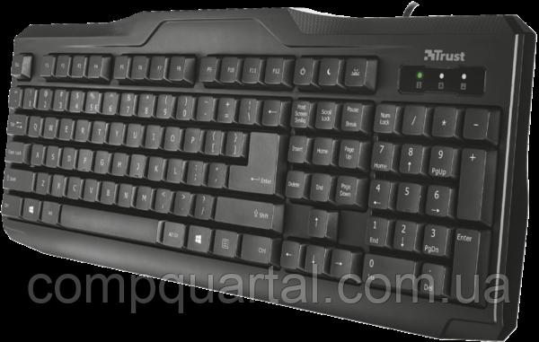 Клавіатура Trust ClassicLine Keyboard. UKR (20637) USB