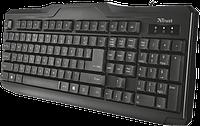 Клавіатура Trust ClassicLine Keyboard. UKR (20637) USB, фото 1