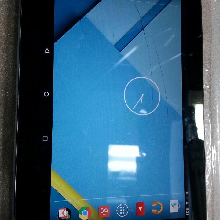 Дисплей для планшета Asus Nexus7 me370tg 3G для переклейки в рамке, фото 1