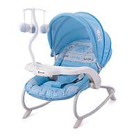 Кресло-качалка DREAM TIME для детей с рождения до 6 мес. и до 9 кг (подставка с игрушками, столик) ТМ Lorelli (Bertoni)