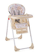 Стульчик для кормления OLIVER для детей с 6 месяцев (ремни безопасности, поднос, корзина, чехол) ТМ Lorelli (Bertoni)