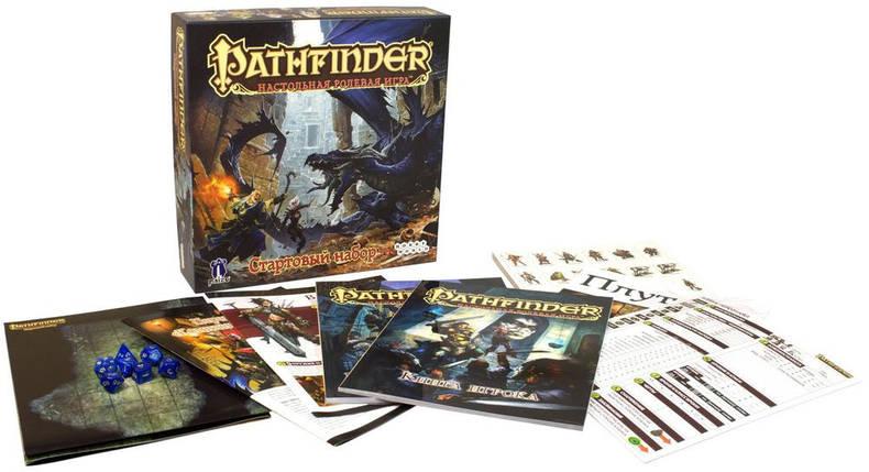 Настольная игра Pathfinder. Настольная ролевая игра. Стартовый набор, фото 2
