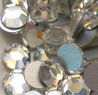 Стразы стекло, Crystal (прозрачный), ss3 (1,2мм), 100шт