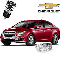 Автобаферы ТТС для Chevrolet Cruze (2 штуки)