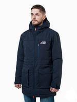 Зимняя теплая мужская куртка ( парка ) WM2 NVY  URBAN PLANET (темно- синяя) 0100214061