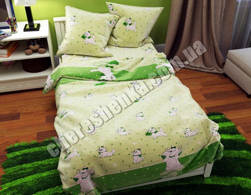 Детское постельное белье из бязи Котики