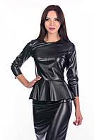 Модный женский костюм из эко-кожи в 5ти цветах Malena TL ks2028