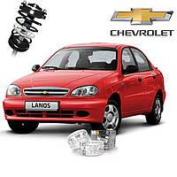 Автобаферы ТТС для Chevrolet Lanos (2 штуки)
