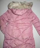 Пуховик розовый зимнее пальто для девочки рост 164, GRACE 60432, фото 2