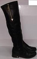 Ботфорты женские зимние № 4101 натуральная кожа ВЕРОН