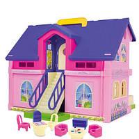 Дом для кукол Wader 25400, фото 1