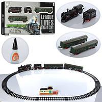 Залізниця  19030-2 св,103-78 см,зв.св,3вагони 63,5*31*6,5 см
