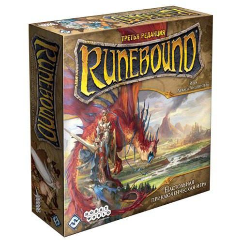 Настольная игра Runebound Third Edition (Рунный край, Рунебаунд) eng.