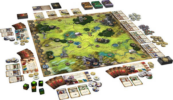Настольная игра Runebound Third Edition (Рунный край, Рунебаунд) eng., фото 2