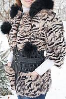 Жилет меховой из меха кролика  женский. , фото 1