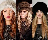 Женские шапки кубанки из натурального меха