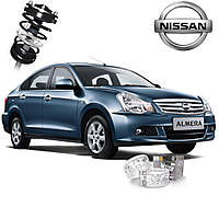Автобаферы ТТС для Nissan Almera (2 штуки)