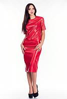 Стильный женский костюм из эко-кожи в 5ти цветах Roxy TL ks2027