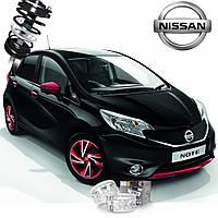 Автобаферы ТТС для Nissan Note (2 штуки)