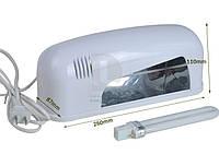 Уф индукционная лампа 9 Вт для сушки ногтей JD 906, фото 1