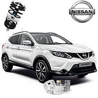Автобаферы ТТС для Nissan Qashqai (2 штуки)