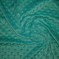 Плюш минки насыщенный мятный, ширина 84 см, плотность 350 г/м, фото 1