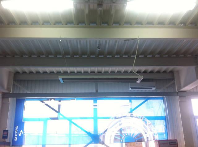 Монтаж системы инфракрасного отопления