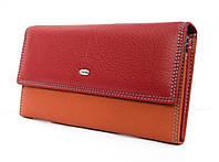 Превосходный подарок стильный женский кошелек из натуральной кожи от Dr. BOND (12220)