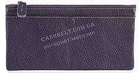 Стильный практичный тонкий яркий женский кошелек из очень мягкой качественной кожи SALFEITE art. 3231 фиолет