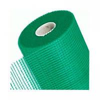 """Сетка штукатурная фасадная 5 х 5 мм (1 м х 50 м) (145 г/кв. м) син/зел  """"REINFORCING"""""""