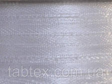 Тесьма атласная 3 мм белый 99 ярд.