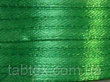 Тасьма атласна 3 мм зелений 99 ярд.