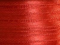 Тесьма атласная 3 мм красный 99 ярд.