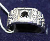 Печатка серебро 925 проба 19 размер Арт1027