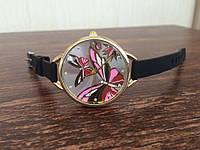 Женские кварцевые наручные часы Часы с бабочками