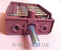 Переключатель восьмипозиционный BC6-12 / 16А / 250V / Т150 для электроплит Турция