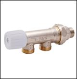 Однотрубный ручной вентиль * 1/2 - 24х1,5 Icma