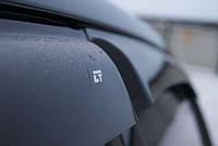 Дефлекторы окон (ветровики) Hyundai ACCENT 2010 темный (Хундай Акцент) Autoclover