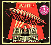 Музичний сд диск LED ZEPPELIN Mothership (2010) (audio cd)