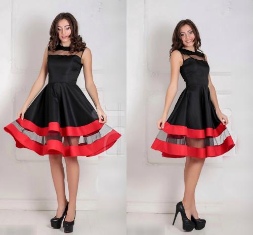 60e839e2c3e Женское платье Valentine черное - Интернет-магазин