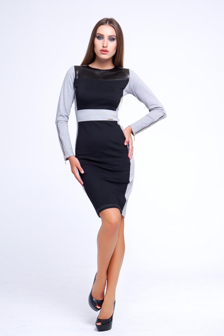 a96c0a9e658 Стильное платье для офиса Деметра № 15 - DS Moda - женская одежда оптом от  производителя