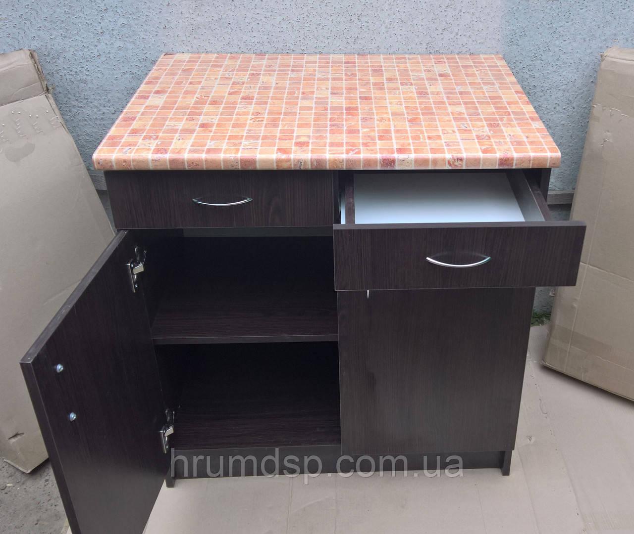 Кухонный стол 80х60 с столешницей 28мм