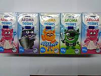 Носовые платки бумажные ароматизированные Tesco Aroma Tissues
