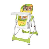 Стульчик для кормления PRIMO для детей с 6 месяцев (ремни безопасности, поднос, корзина, чехол) ТМ Lorelli (Bertoni)