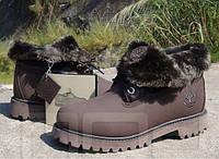 Ботинки Timberland с заворотом на меху