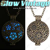 """Винтажное украшение - """"Glow Vintage"""" - светится в темноте!"""