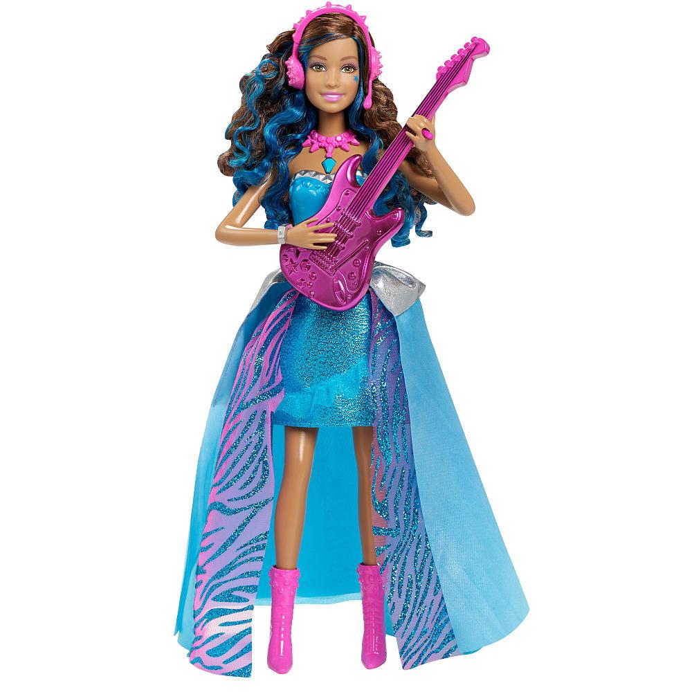 "Barbie Лялька Барбі ""Співаюча Еріка"" (Mattel Barbie in Rock 'n Royals Singing Erika Doll )"
