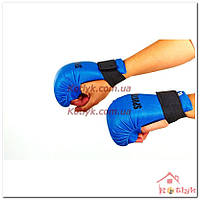 Накладки (перчатки) для карате SPORTKO синие